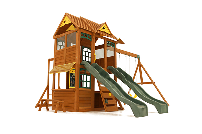 Playsets Twin Mountain Lodge Outdoor Products Asmarwood
